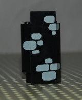 Lego Panneau Noire Chateau 3 X 3 X 6 Murs D.angle Avec Pierres Eparses Motif Gris Clair - Lego Technic