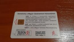 Hungary - A1996-01 - Hallo, 4000 Ex - Phonecards