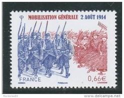 FRANCE 2014 MOBILISATION GENERALE NEUF** YT 4889 -                 TDA262 - Unused Stamps