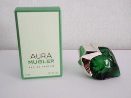 BELLE MINIATURE Eau De Parfum AURA De Thierry MUGLER 5 Ml - Miniatures Modernes (à Partir De 1961)
