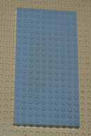 Lego Brique 10x20 Gris Ref 700ed - Lego Technic