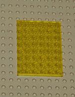 Lego Plate 6x8 Transparent Jaune Ref 3036 - Lego Technic