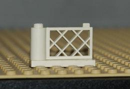 Lego Porte Blanc Portail Ref 3386 Et 3387 1x4x2 - Lego Technic