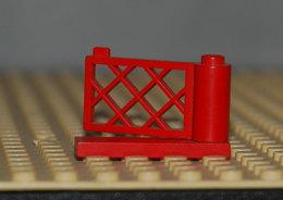 Lego Porte Portail Train Maison Rouge Ref 3186 Et 3187 1x4x2 - Lego Technic