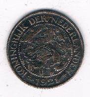 1 CENT 1921 NEDERLAND /6749/ - [ 3] 1815-… : Kingdom Of The Netherlands