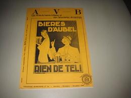 Anc. Magazine AVB - Histoire Des Brasserie D'AUBEL ( + Brasseries De L'entité De Biche) - Autres Collections