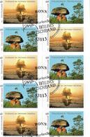 2014  Allem. Fed.  Deutschland  Mi. FB 39 FD-used  Booklet Wildes Deutschland - BRD
