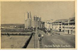 REAL PHOTO - DURBAN - MARINE PARADE  -  B322 - South Africa