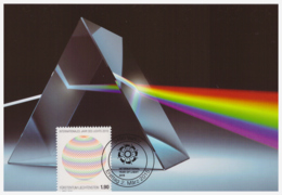 Liechtenstein 2015 - 1 Carte Maximum - Lumière - Série Complète (lie248) - Cartes-Maximum (CM)