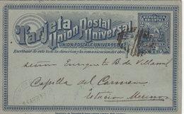 TARJATA  UNION POSTAL UNIVERSAL  URUGUAY1898 - Uruguay
