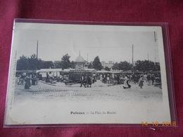 CPA - Puteaux - La Place Du Marché - Puteaux
