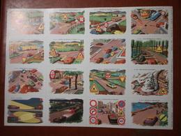 Planche éducative Volumétrix - N°54 - Code De La Route N°2 - Learning Cards