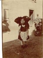 Photo Petite Alsacienne  Format 5/8 - Anonieme Personen