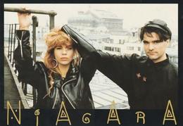 Rare Ancienne Cp  Pop Culture Années 80 Niagara - Objets Dérivés