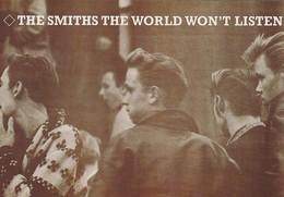 Rare Ancienne Cp  Pop Culture Années 80 The Smiths - Objets Dérivés
