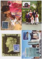 Liechtenstein 2015 - 4 Cartes Maximum - ONU - Philatélie - Costumes - économie - Série Complète (lie245) - Cartes-Maximum (CM)