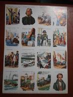 Planche éducative Volumétrix - N°72 - Histoire (de La Révolution Au Second Empire) - Learning Cards