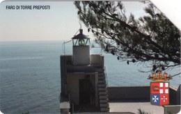 *ITALIA: FARO DI TORRE PREPOSTI* - Scheda Usata - Lighthouses