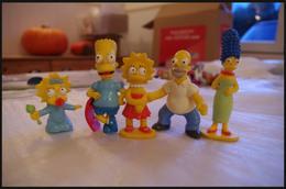 "Lot De 5 Figurines ""les Simpson"" - Figurines"