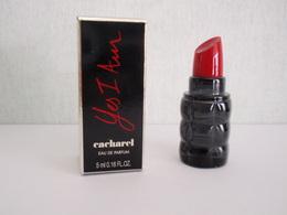 MINIATURE Eau De Parfum YES I AM De CACHAREL 5 Ml - Miniatures Modernes (à Partir De 1961)