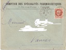 38---Ille Et Vilaine   Paramé   1F50  Pétain   Comptoir Des Spécialités Pharmaceutiques - Poststempel (Briefe)