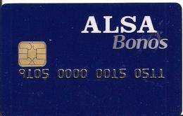 Tarjeta Transporte Alsa Bonos - Unclassified