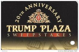 Trump Plaza Casino Atlantic City NJ Slot Card (BLANK) - Casino Cards