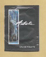 POCHETTE ECHANTILLON SACHET POCKET ANTARTIC * YVES ROCHER *** 1 EX - Perfume Cards