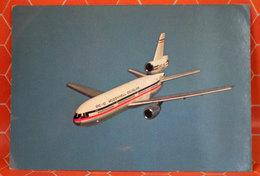 AEREO MCDONNEL DOUGLAS DC-10 CARTOLINA - 1946-....: Era Moderna