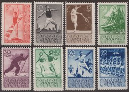 Russia 1938 Mi 657-664 MLH OG * - 1923-1991 URSS