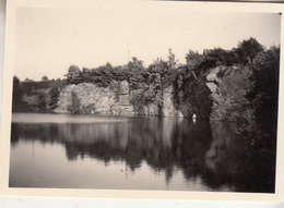 Opprebais - Carrière Inondée - Photo Format 6 X 9 Cm - Lieux