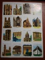 Planche éducative Volumétrix - N°104 - Architecture Française - Learning Cards