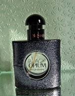 """Flacon De Parfum Vaporisateur """"BLACK OPIM"""" D'YVES ST LAURENT EDP 30 Ml VIDE Pour Collection Ou Décoration - Bottles (empty)"""