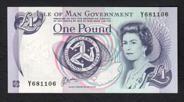 ISLE OF MAN  :   1 Pound - P40b - 1983 - UNC - Isle Of Man / Channel Island
