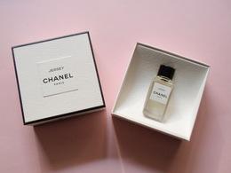 RARE MINIATURE Eau De Parfum JERSEY Les EXCLUSIFS De CHANEL 4 Ml - Miniatures Modernes (à Partir De 1961)