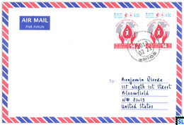 Sri Lanka Stamps, World Blood Doner Day, Personalized Cover - Sri Lanka (Ceylon) (1948-...)