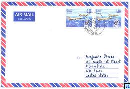 Sri Lanka Stamps, Air Force, Aviation, Military, Jets, Planes, Personalized Cover - Sri Lanka (Ceylon) (1948-...)
