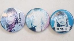 Badges Pin's RENAUD Chanteur - Lots