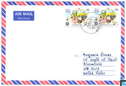 Sri Lanka Stamps, St. John Ambulance, Medical, Nurse, Personalized Cover - Sri Lanka (Ceylon) (1948-...)