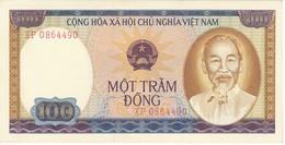 BILLETE DE VIETNAM DE 100 DONG DEL AÑO 1980  (BANKNOTE) SIN CIRCULAR-UNCIRCULATED - Vietnam