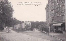 92 CHAVILLE CPA Coin De La VILLE  GRANDE EPICERIE Carrefour Route Des Gardes Et Avenue Sully - Chaville