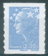 """France, """"Marianne De Beaujard"""", 1.30€, 2009, MNH VF Self-adhesive Stamp - 2008-13 Marianne Of Beaujard"""