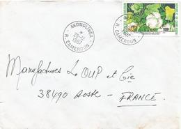 Cameroun Cameroon 1987 Akonolinga Cotton Fruit Flower Cover - Kameroen (1960-...)
