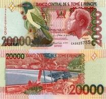SAINT THOMAS & PRINCE  20000 Dobras P  67d UNC - Sao Tome And Principe