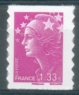 """France, """"Marianne De Beaujard"""", 1.33€, 2008, MNH VF Self-adhesive Stamp - France"""