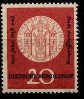Allemagne Rep.Fed. 1957  Mi.:nr. 255 Aschaffenburg  Neuf Sans Charniere / Mnh / Postfris - [7] Federal Republic