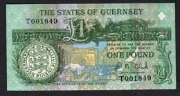 Guernsey  :  1 Pound - P52c -  UNC - Guernesey
