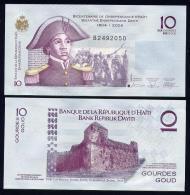 HAITI  : 10 Gourdes - 2006 - UNC - Haïti