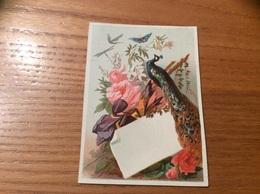 Marque-place « Faisan, Papillon, Fleur» - Menus