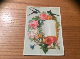 Marque-place « Oiseau, Hirondelle, Papillon, Fleur» - Menus